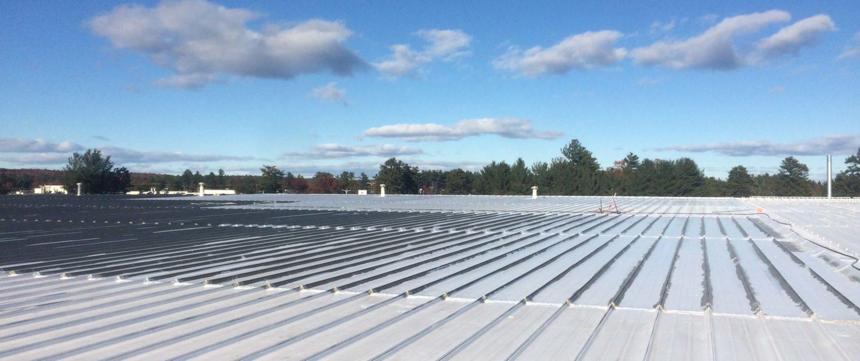 Metal Roof Post Installation