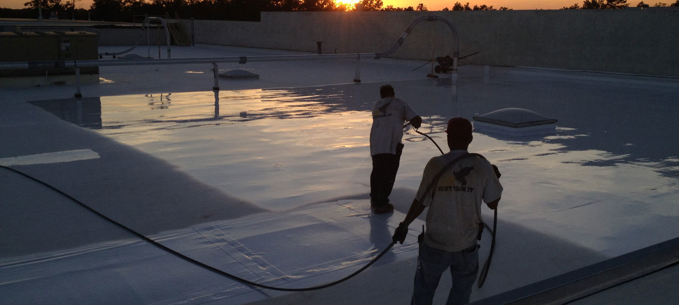 roof re-coating